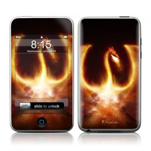 Fire Dragon iPod touch Skin