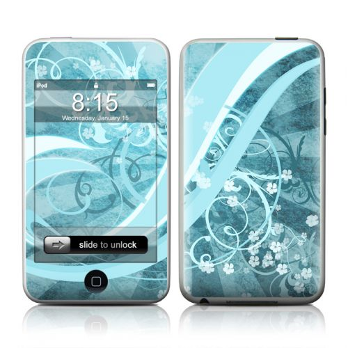 Flores Agua iPod touch Skin