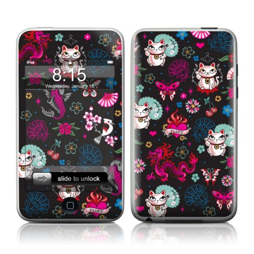 Geisha Kitty iPod touch Skin
