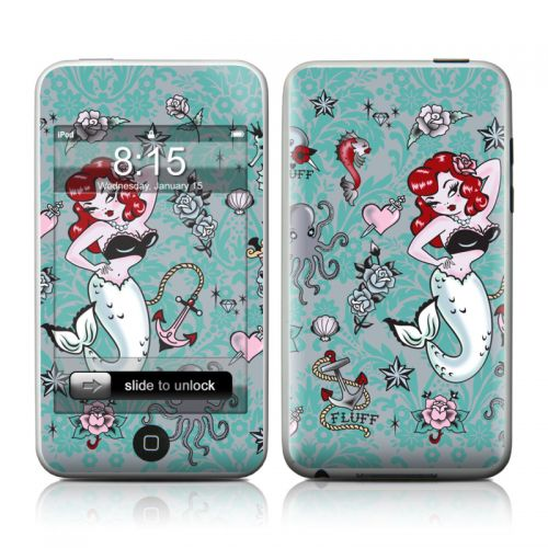 Molly Mermaid iPod touch Skin