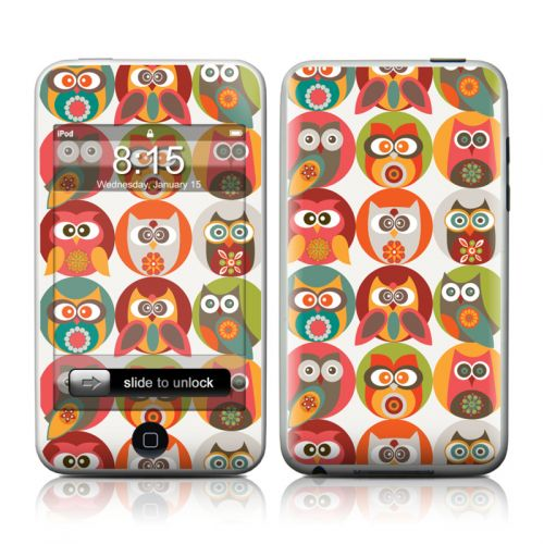 Owls Family iPod touch Skin