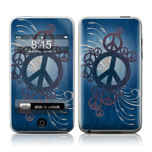 Peace Out iPod touch Skin