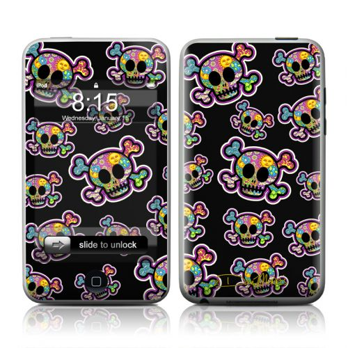 Peace Skulls iPod touch Skin