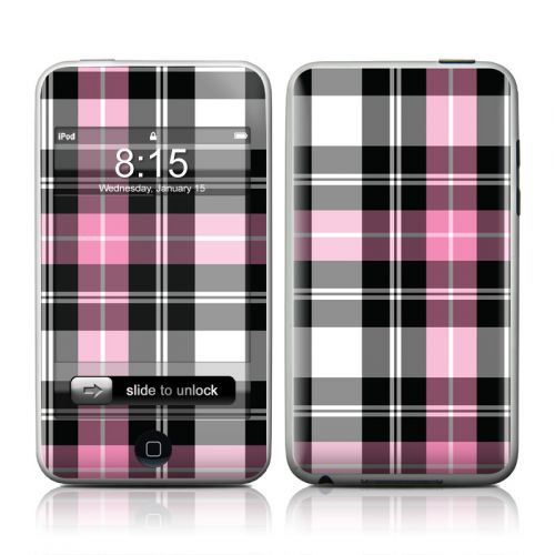 Pink Plaid iPod touch Skin