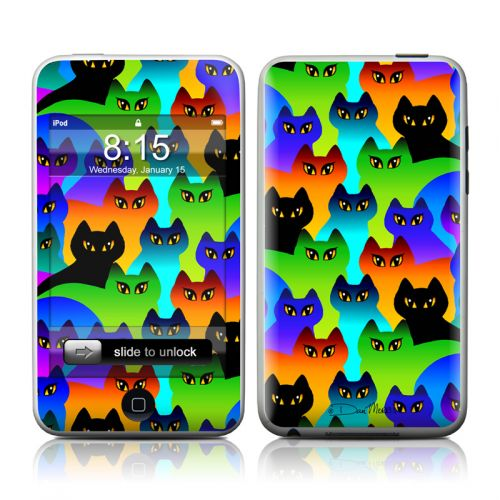 Rainbow Cats iPod touch Skin