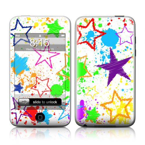 Scribbles iPod touch Skin