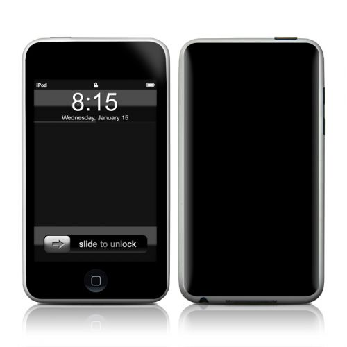 Solid State Black iPod touch Skin