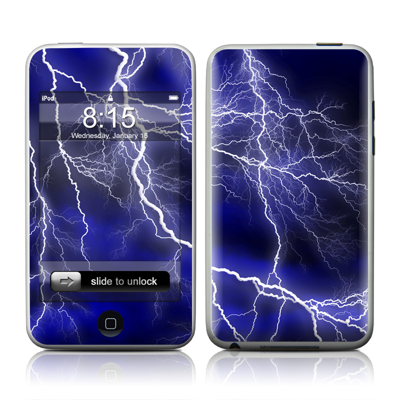 Apocalypse Blue iPod touch Skin