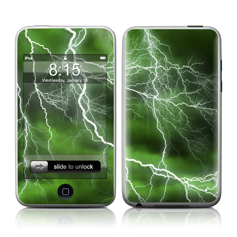 Apocalypse Green iPod touch Skin