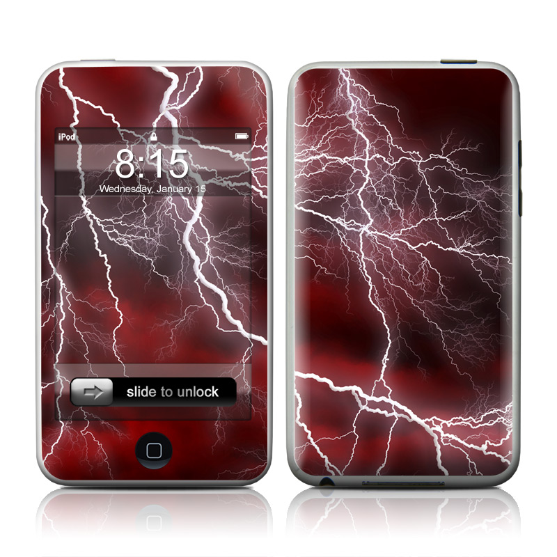 Apocalypse Red iPod touch Skin