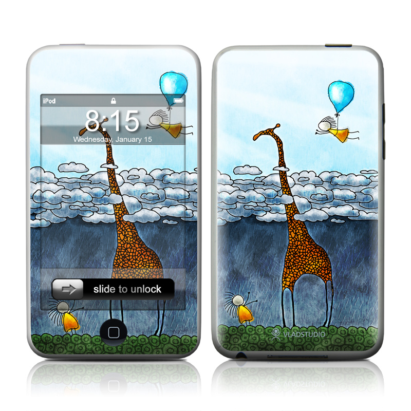 Above The Clouds iPod touch Skin