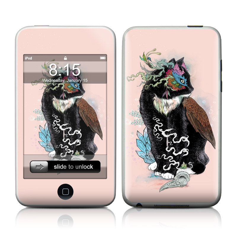 Black Magic iPod touch Skin