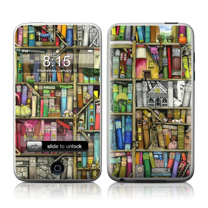 Bookshelf iPod touch Skin