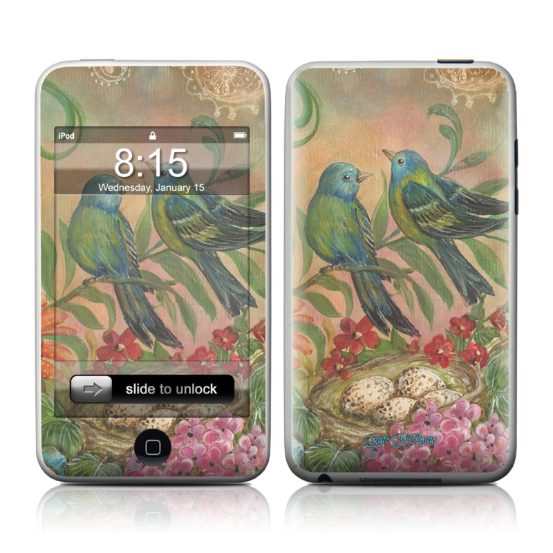 Splendid Botanical iPod touch Skin