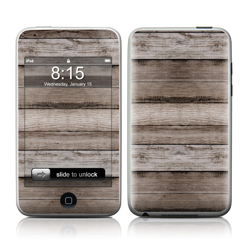 Barn Wood iPod touch Skin