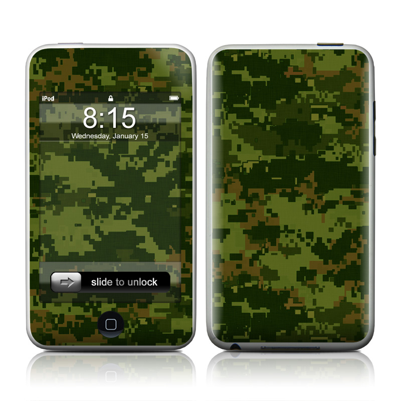 CAD Camo iPod touch Skin