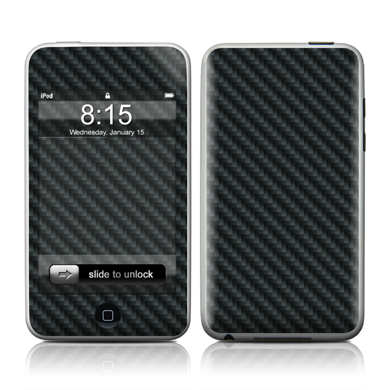 Carbon iPod touch Skin