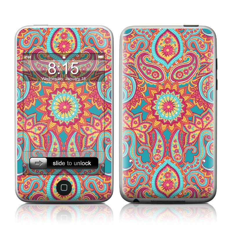 Carnival Paisley iPod touch Skin
