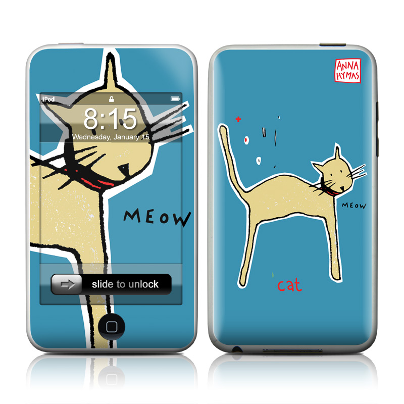 Cat iPod touch Skin