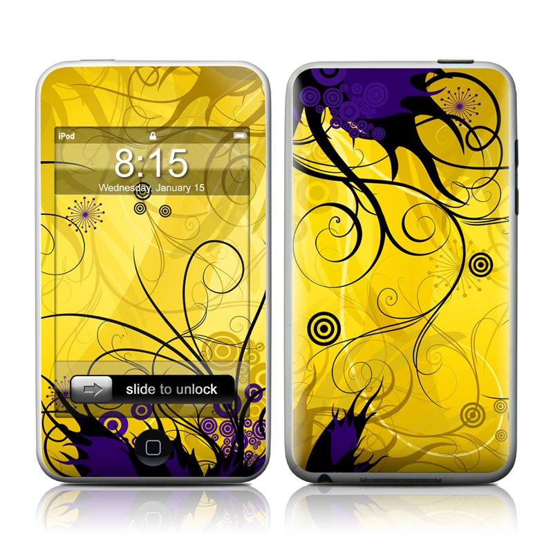 Chaotic Land iPod touch Skin