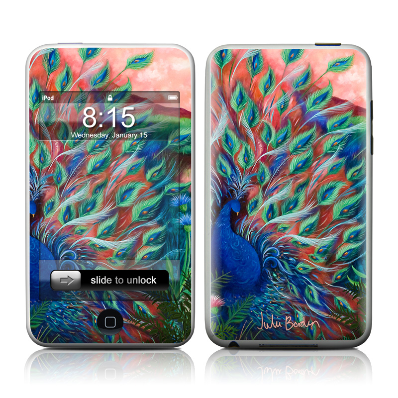 Coral Peacock iPod touch Skin