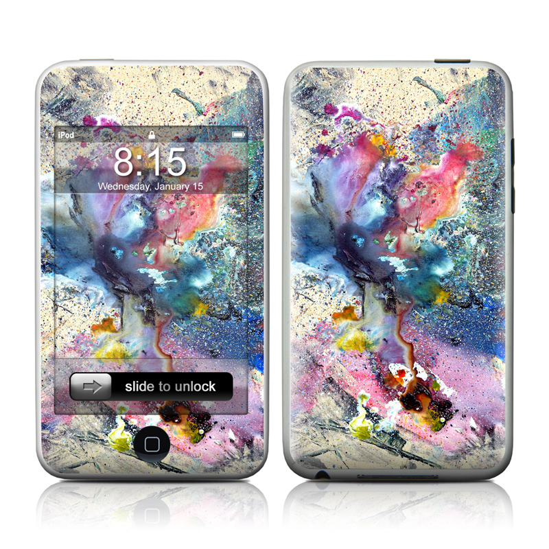 Cosmic Flower iPod touch Skin