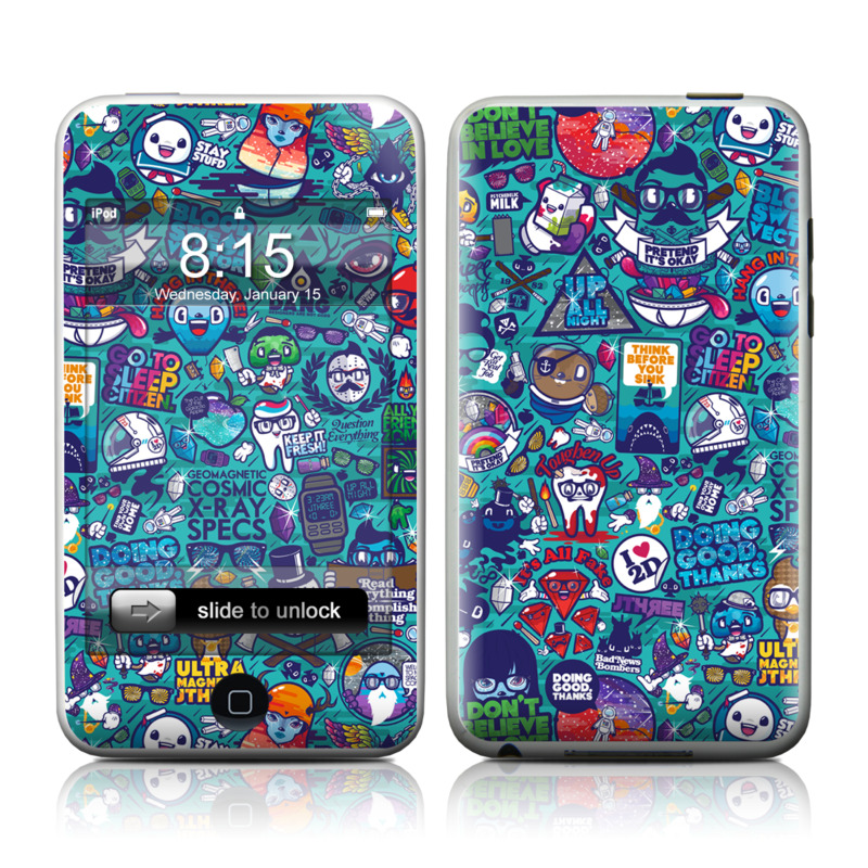 Cosmic Ray iPod touch Skin
