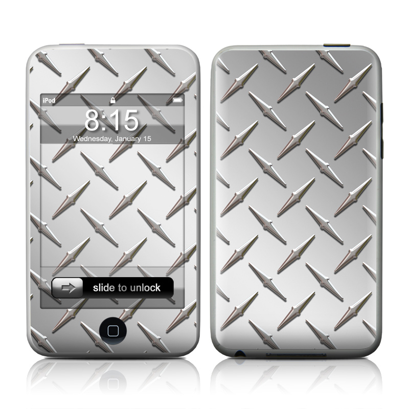 Diamond Plate iPod touch Skin