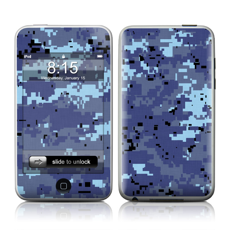 Digital Sky Camo iPod touch Skin