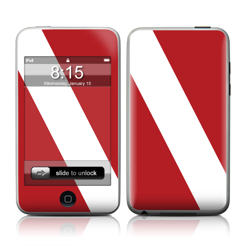 Diver Down iPod touch Skin