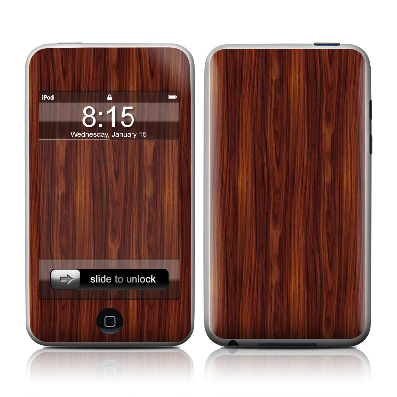 Dark Rosewood iPod touch Skin