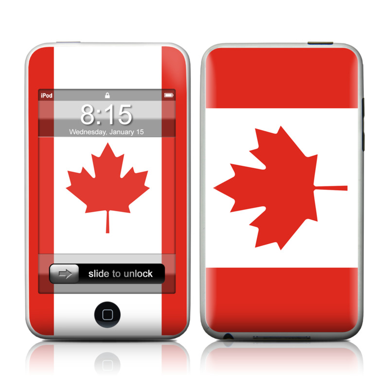 Canadian Flag iPod touch Skin