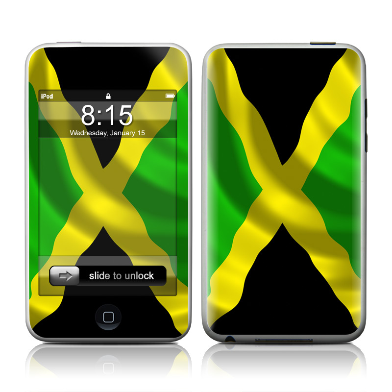 Jamaican Flag iPod touch Skin