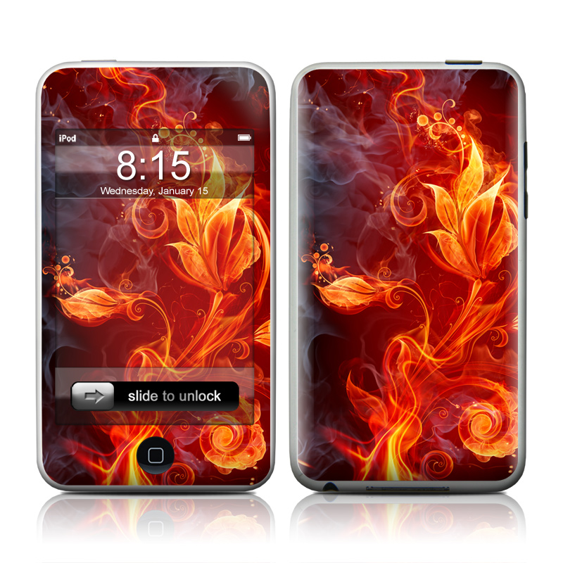 Flower Of Fire iPod touch Skin