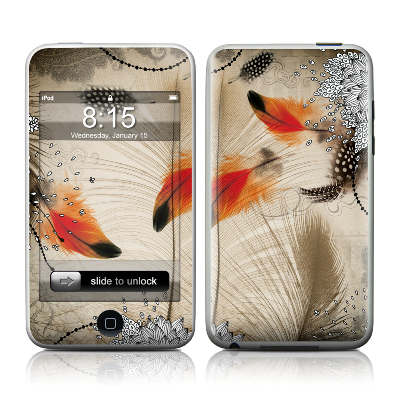 Feather Dance iPod touch Skin