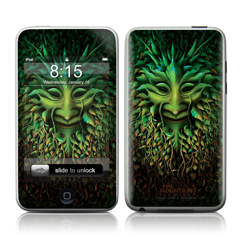 Greenman iPod touch Skin