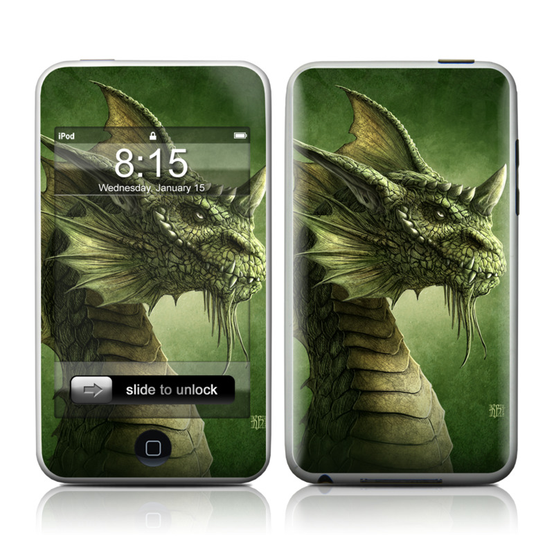 Green Dragon iPod touch Skin