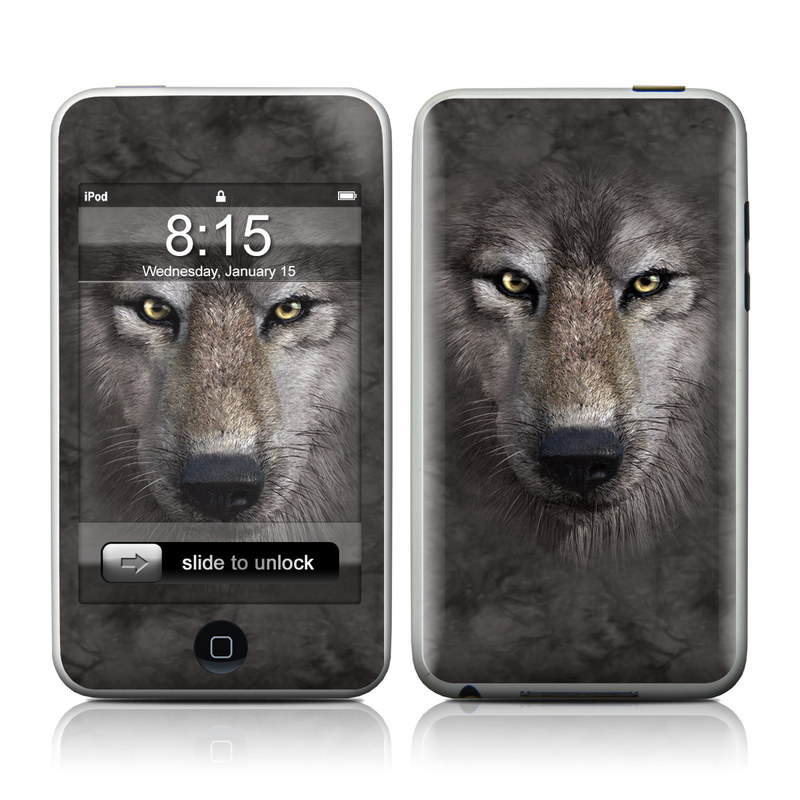 Grey Wolf iPod touch Skin