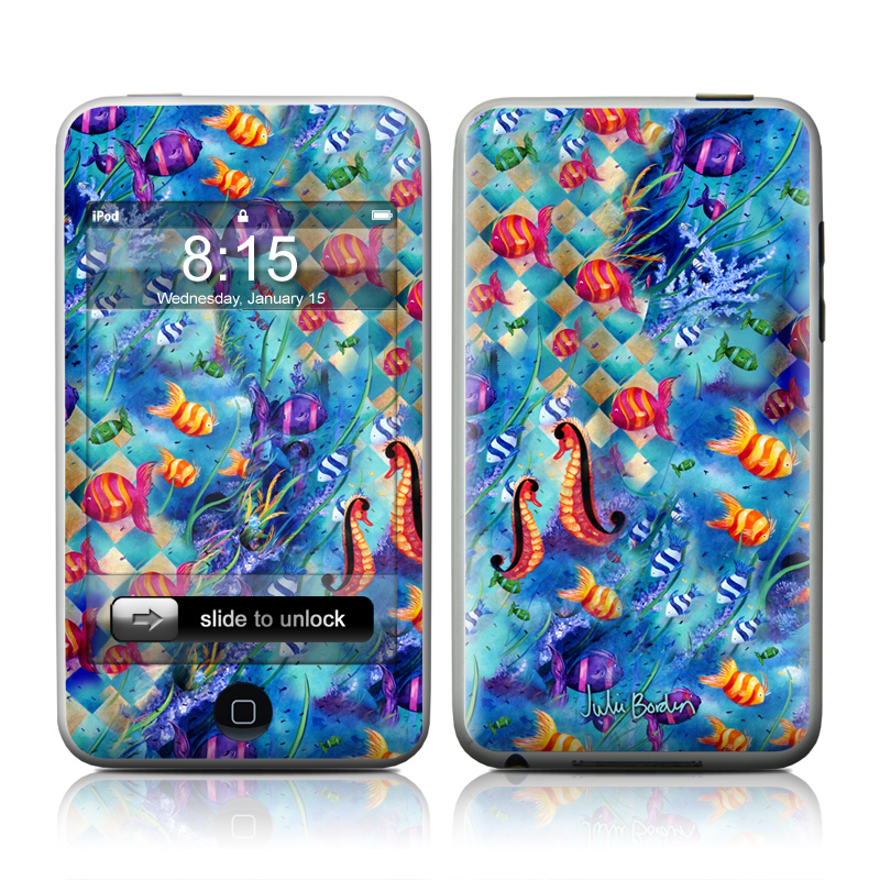 Harlequin Seascape iPod touch Skin