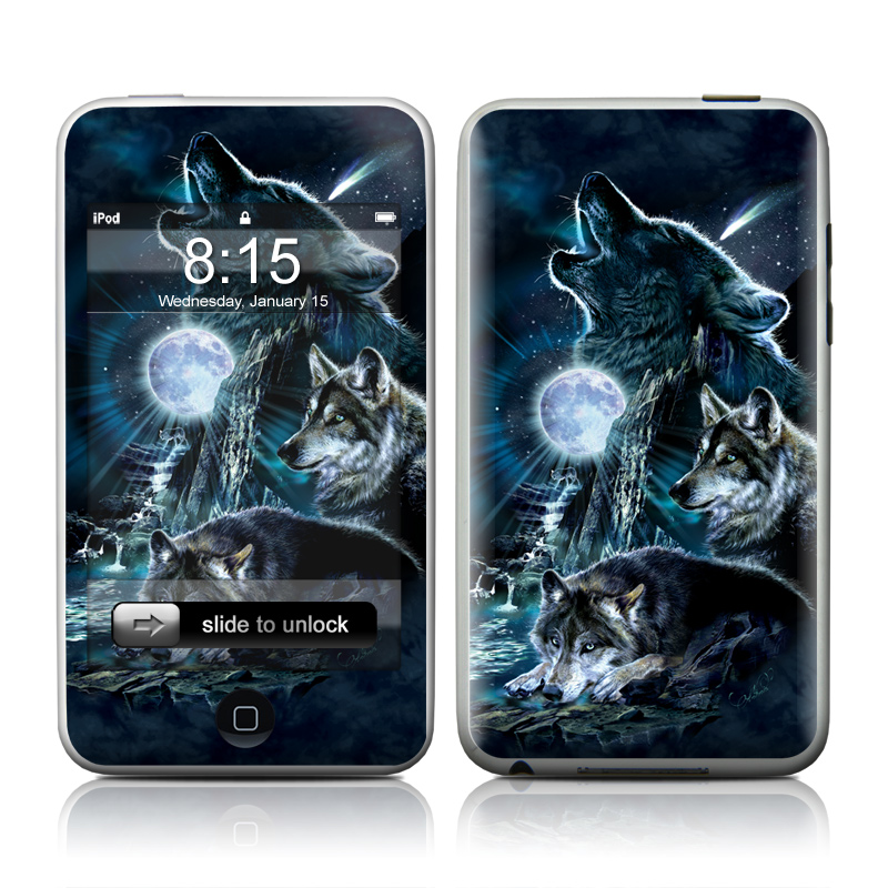 Howling iPod touch Skin