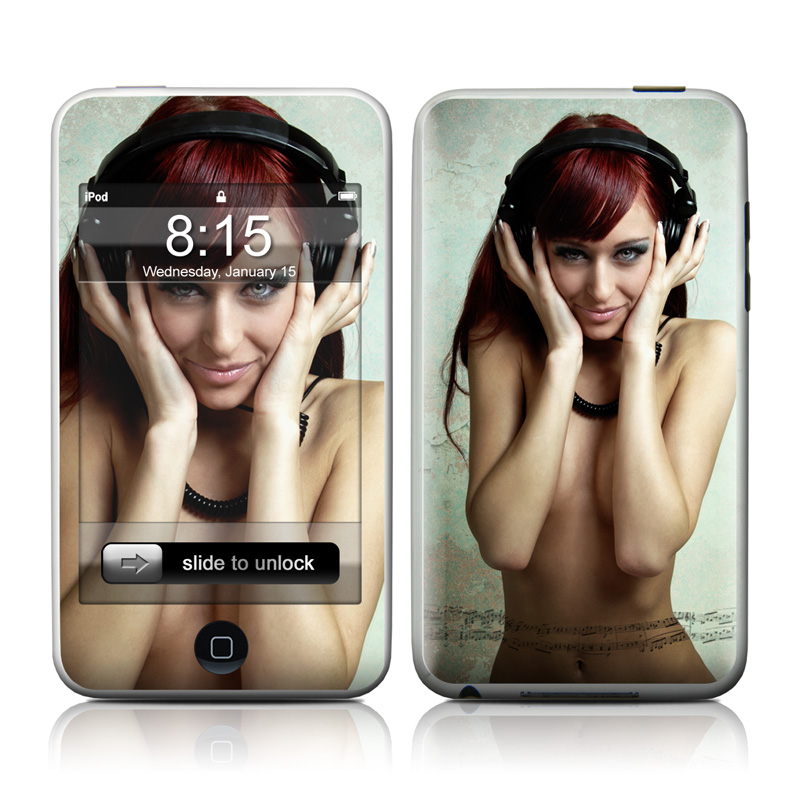 Headphones iPod touch Skin