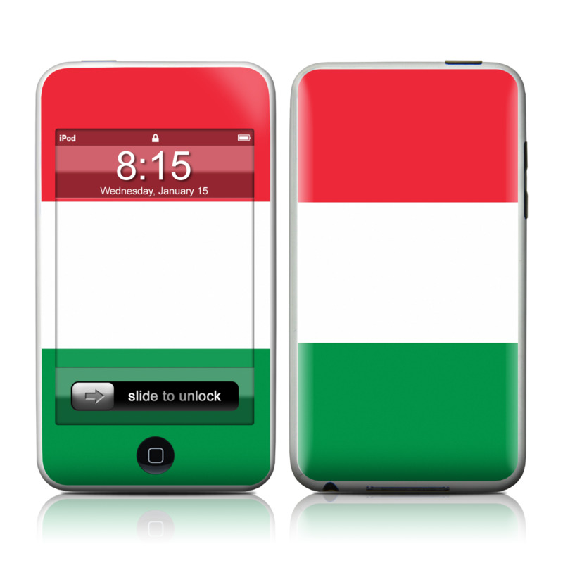 Italian Flag iPod touch Skin