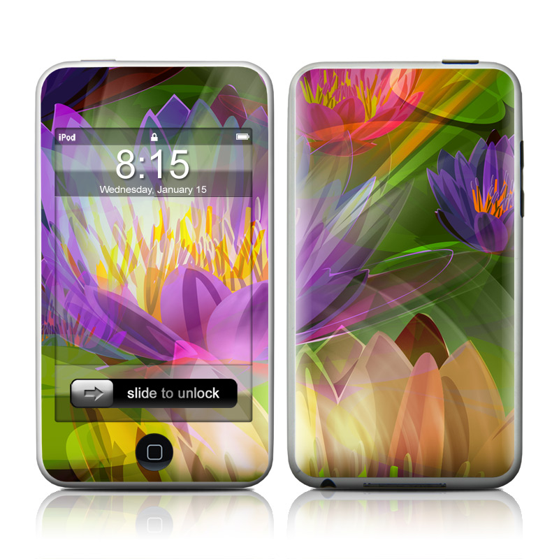 Lily iPod touch Skin