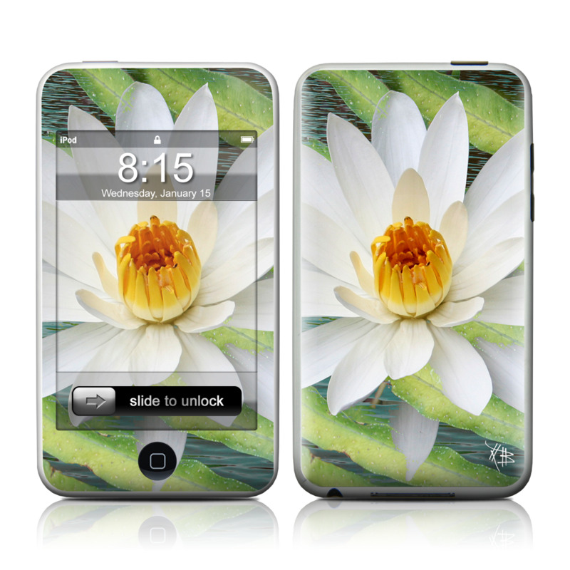 Liquid Bloom iPod touch Skin
