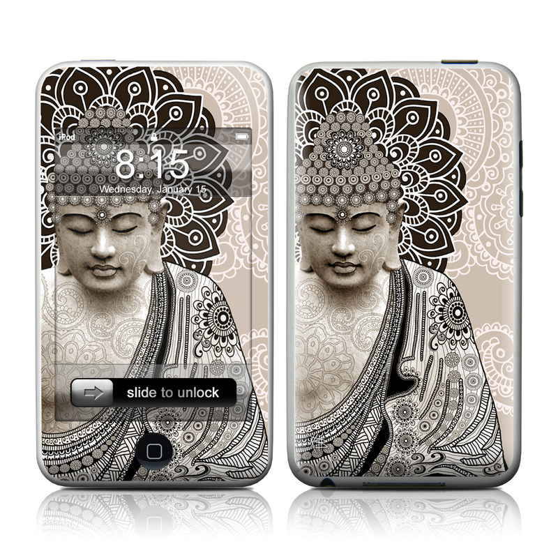Meditation Mehndi iPod touch Skin