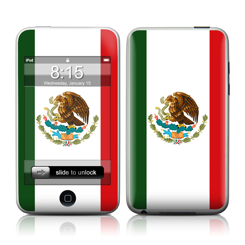 Mexican Flag iPod touch Skin