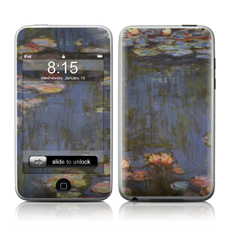 Monet - Waterlilies iPod touch Skin