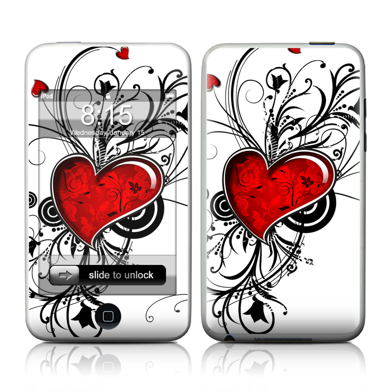 My Heart iPod touch Skin
