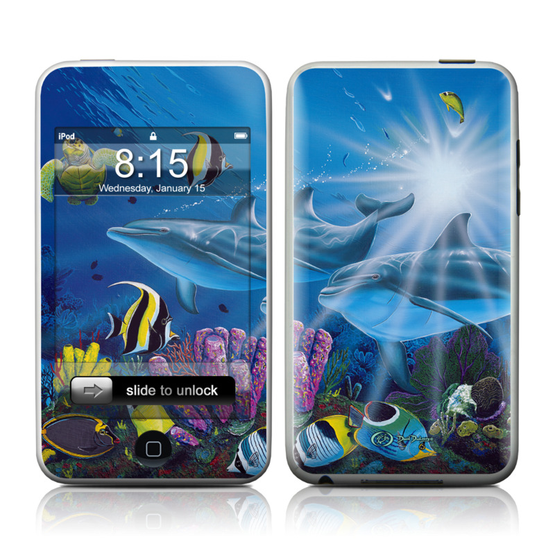Ocean Friends iPod touch Skin