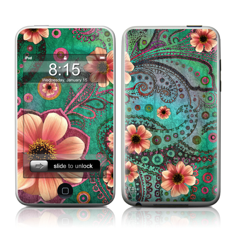 Paisley Paradise iPod touch Skin